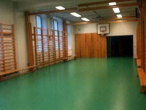 Adolf Fredriks Skolas gymnastiksal