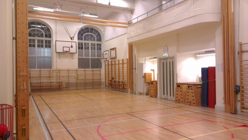 Lilla Adolf Fredriks skolas gymnastiksal