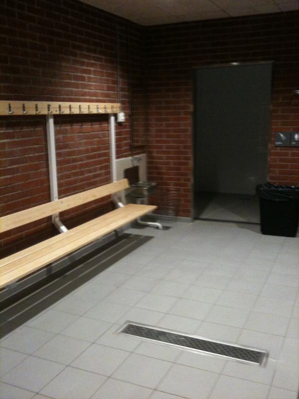 Wushu Sthlm - engelbrektshallen 3 - omkläddningsrum