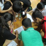filling the examination form