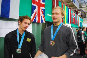kaxiga medaljörer