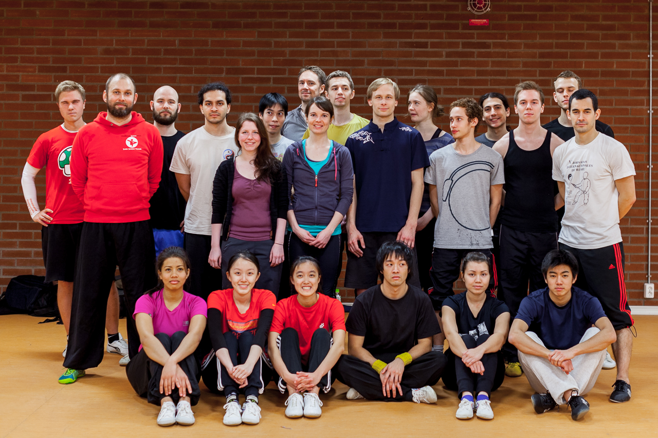 Workshop Wushu STHLM group pic 1