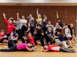 Workshop Wushu STHLM group pic 2